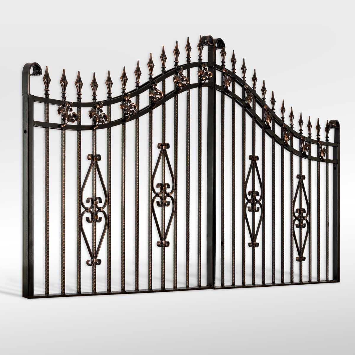 Buy The Parkhurst Wrought Iron Driveway Gate From The Iron Gate