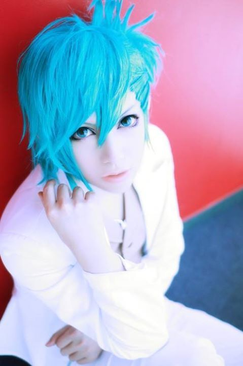 Anime Guy Cosplay We Heart It Anime Cosplay Blue Hair Boy