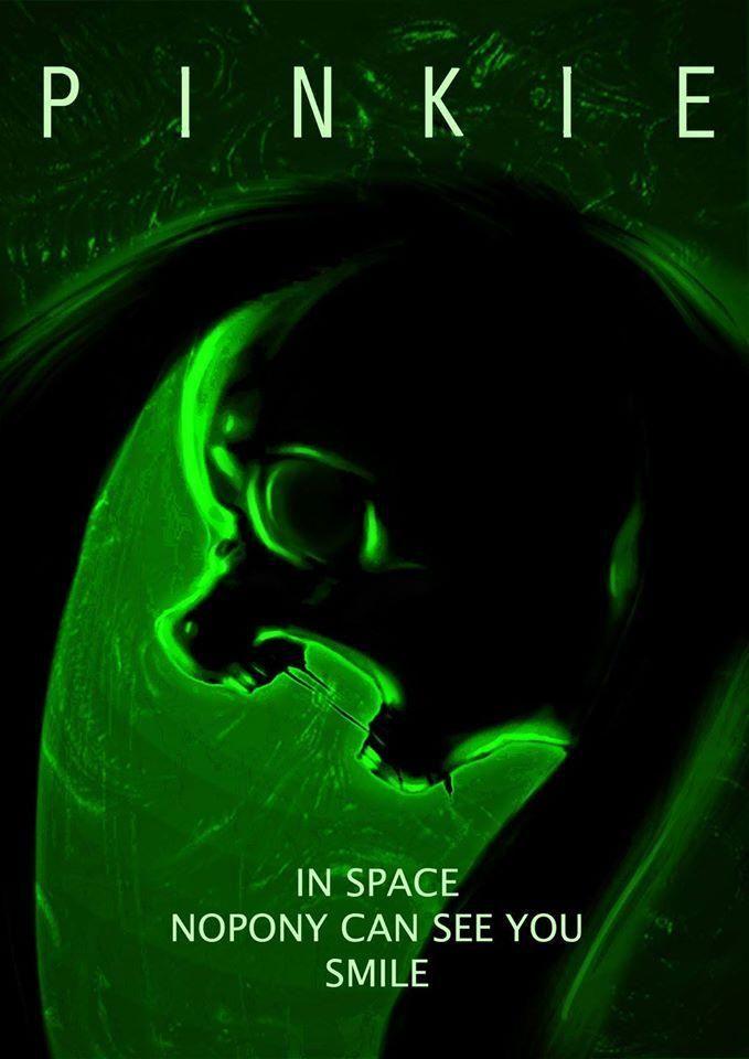 Aliens spoof...with Pinkamena