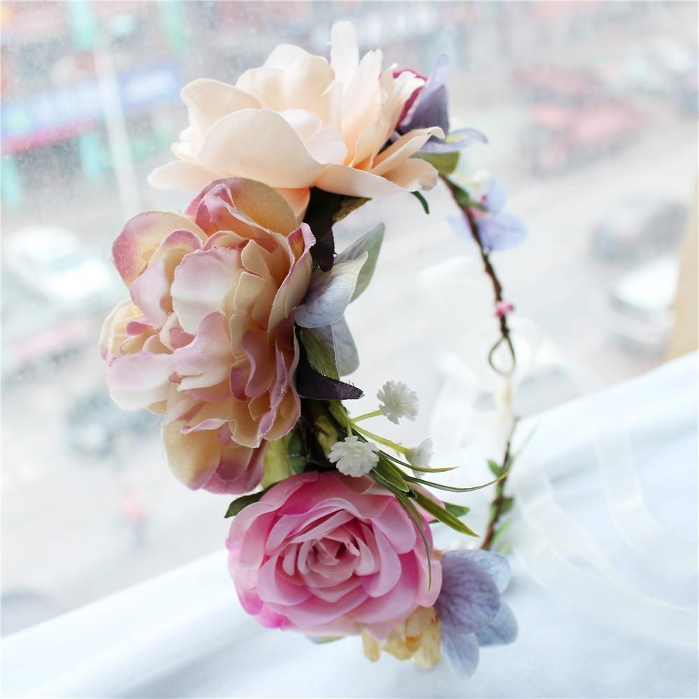 Pink roses flowers head wreath headband for bride headwear handmade flower crown headress hairband. Yesterday's price: US $6.10 (5.30 EUR). Today's price: US $3.17 (2.75 EUR). Discount: 48%. #flowerheadwreaths Pink roses flowers head wreath headband for bride headwear handmade flower crown headress hairband. Yesterday's price: US $6.10 (5.30 EUR). Today's price: US $3.17 (2.75 EUR). Discount: 48%. #flowerheadwreaths Pink roses flowers head wreath headband for bride headwear handmade flower crown #flowerheadwreaths