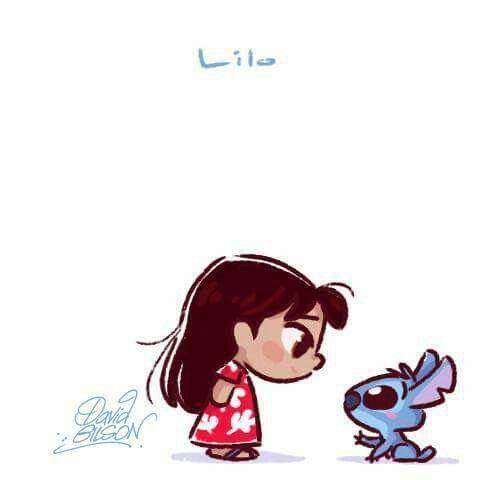 Lilo Stitch Kawaii Disney Disney Drawings Disney Cuties