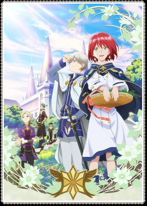 Snow White With The Red Hair Anime Release Date Confirmed With Cast And Staff Snow White With The Red Hair Anime Snow White