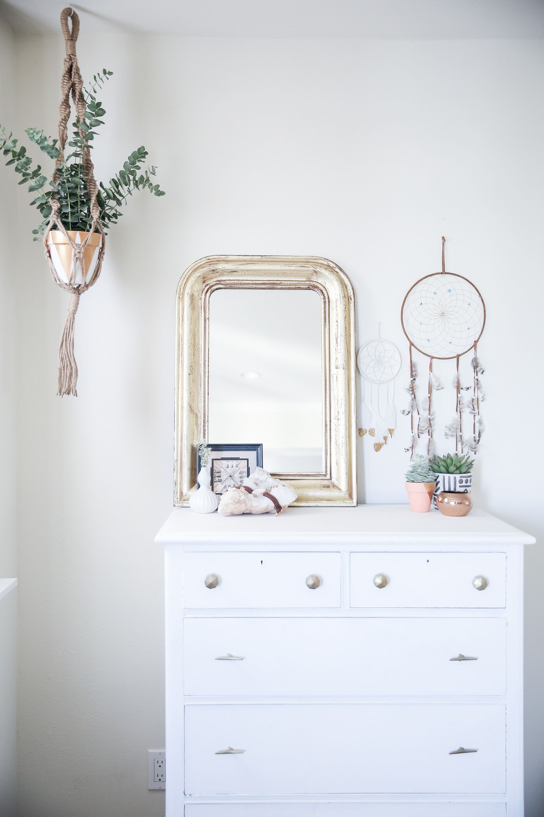 Bedroom before and after bedroom makeover boho bedroom for White bedroom wall mirror
