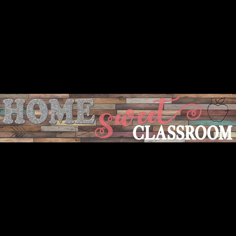 Welcome, inspire, and encourage students with this Home Sweet Classroom Welcome Banner! Folds for e