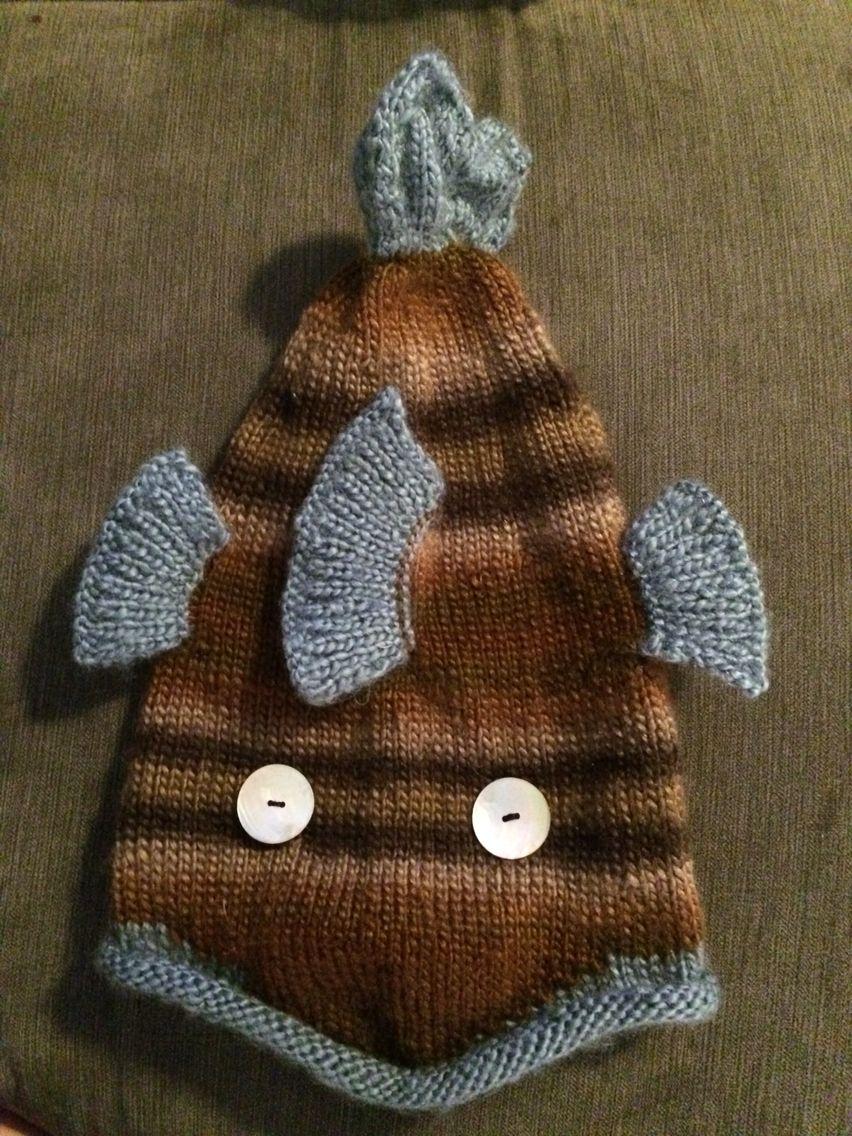 Big fish http://www.knitty.com/ISSUEwinter08/PATTfishy.php