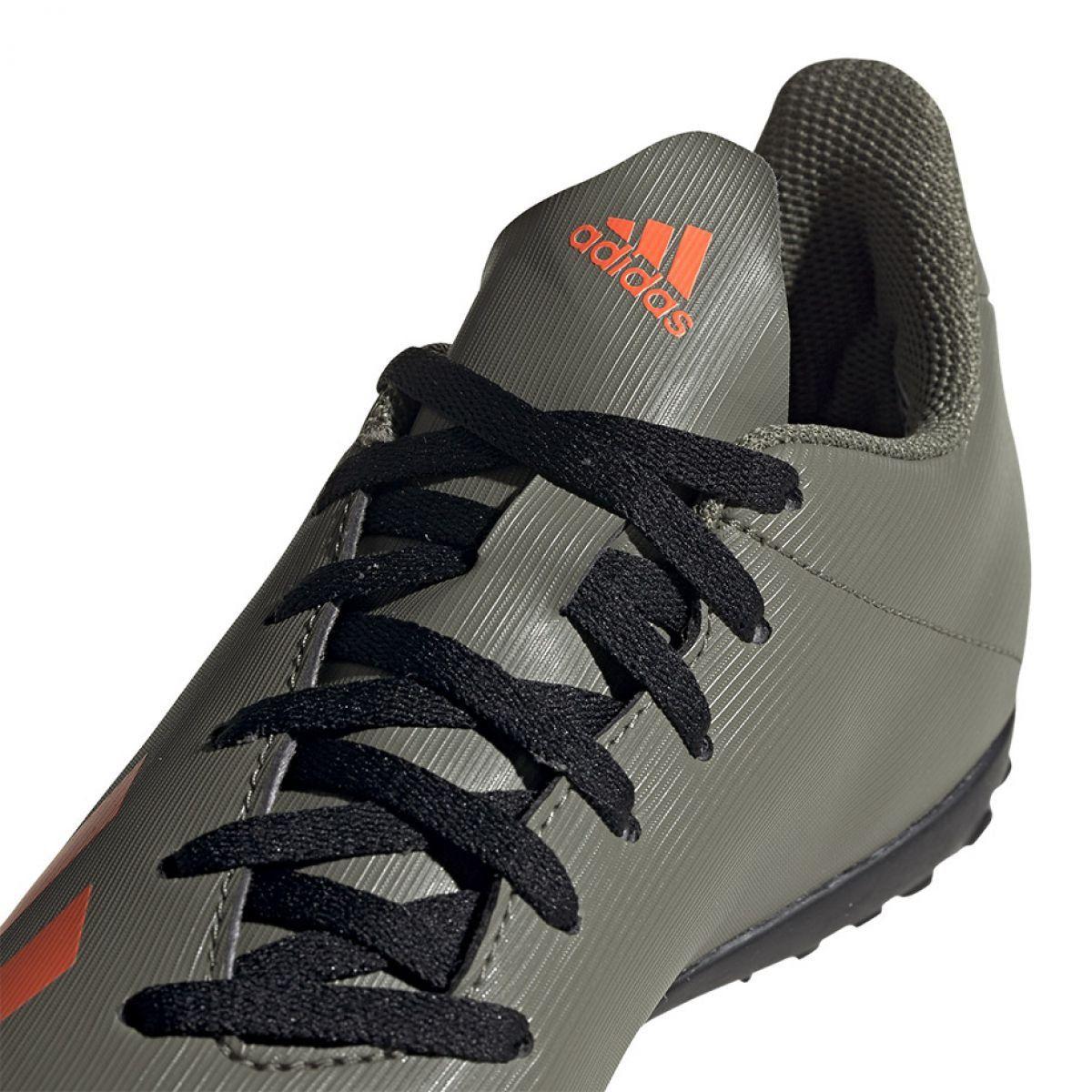Buty Pilkarskie Adidas X 19 4 Jr Tf Ef8378 Zielone Zielone Football Shoes Shoes Adidas Football