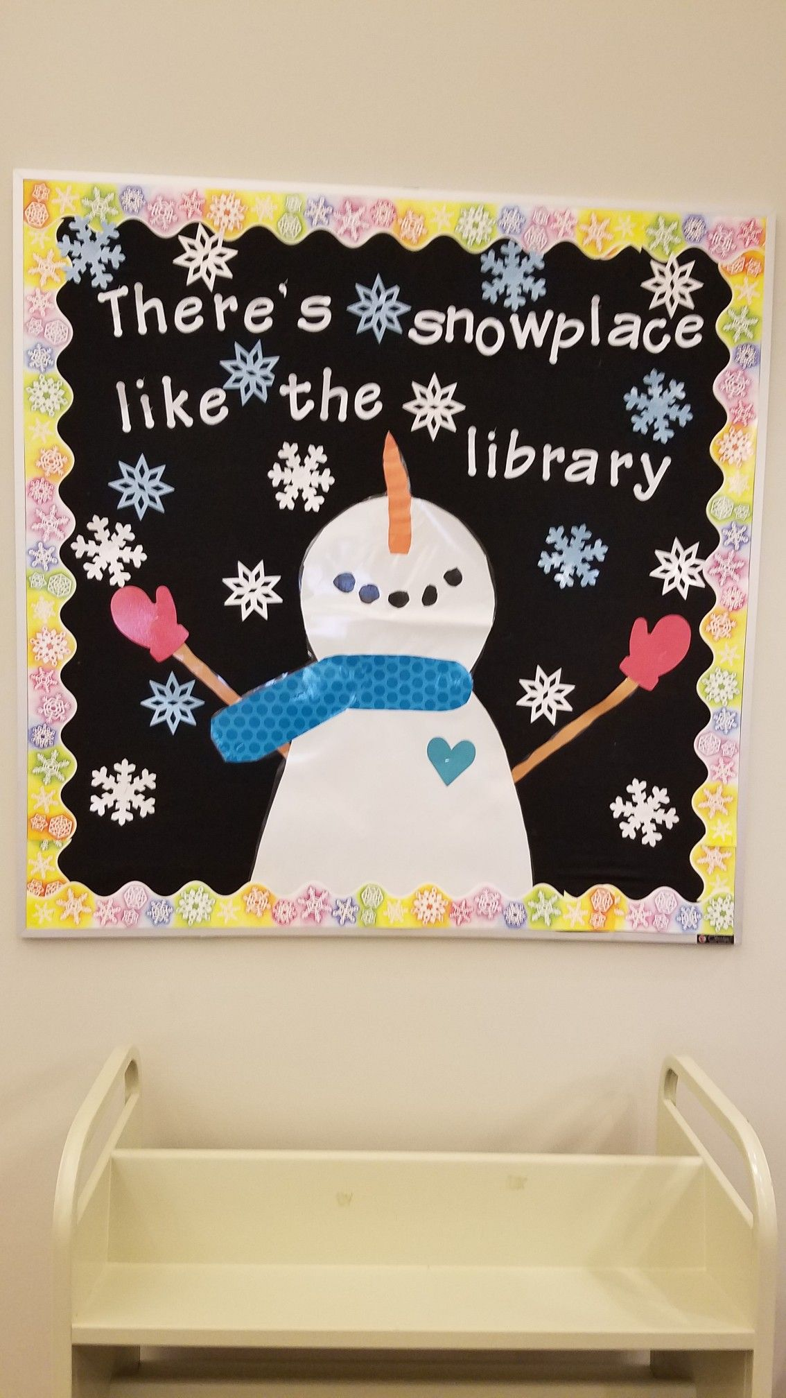 Winter Library Bulletin Board Christmas Boards