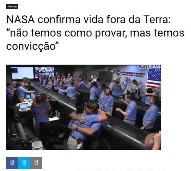 Site humorístico satiriza denúncia contra o ex-presidente Lula (Foto…