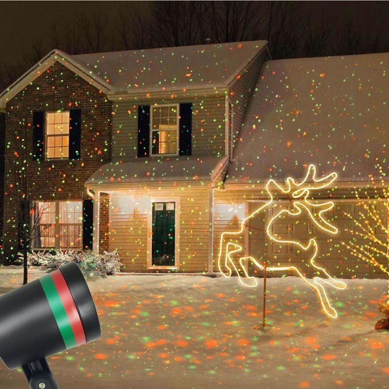 Fairy Sky Star Laser Projector Christmas Light Projector Star Shower Laser Light Outdoor Christmas Lights