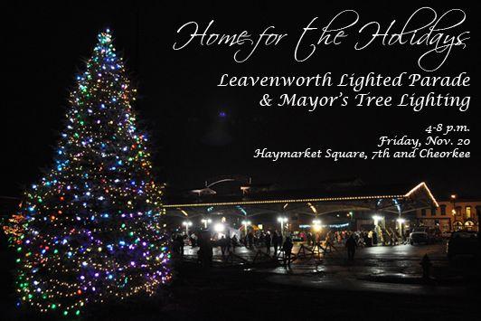 City Of Leavenworth Kansas Leavenworth Holiday Lights Tree Lighting