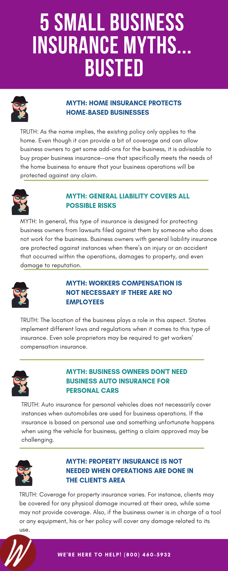 Small Business Insurance Myths Busted Some Make The Mistake