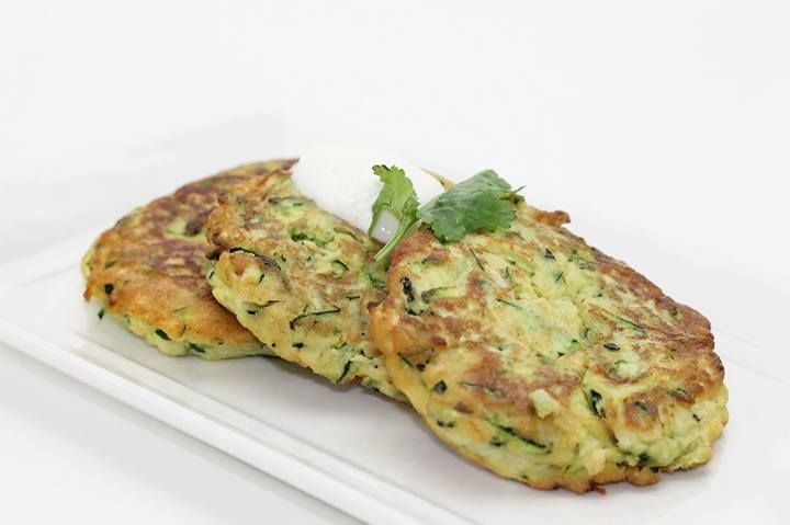 Clean Eating Recipes - Gluten Free Zucchini Fritters: Great with a side salad for lunch or dinner or top with some smoked salmon and ricotta as an hors d'oeuvre at your next party!