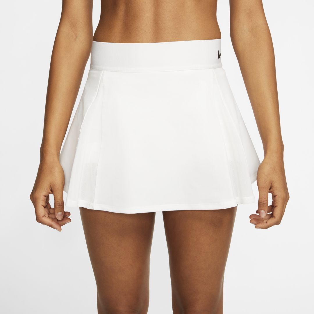 Nikecourt Women S Tennis Skirt White Womens Tennis Skirts Tennis Skirt Tennis Skort