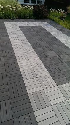 Fiberon Composite Deck with a curve in Ottawa. Built by ...