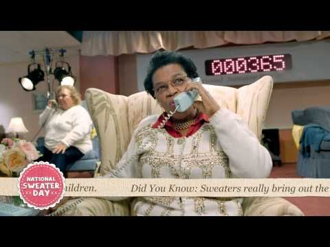 National Sweater Day 2013: Granny Call Centre