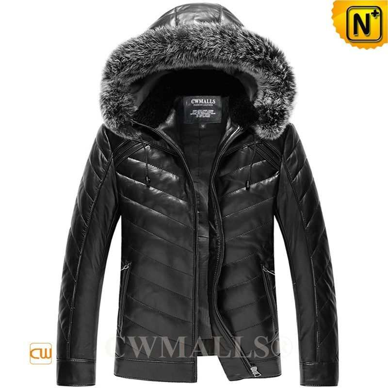728a87541a7 CWMALLS® Down Filled Jacket with Hood CW807035 - Buy down filled leather  jacket with hood for men