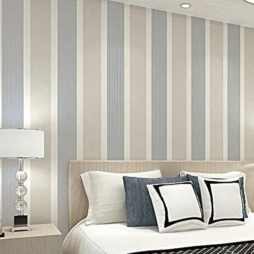 Rayas Verticales Papel Pintado Mural Para Dormitorio Sala de Estar ...