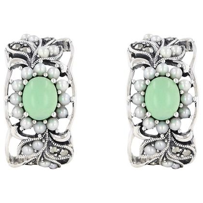 Beautiful earrings from Juwelo! Heel mooi te combineren met je spetterende kerstoutfit ♥