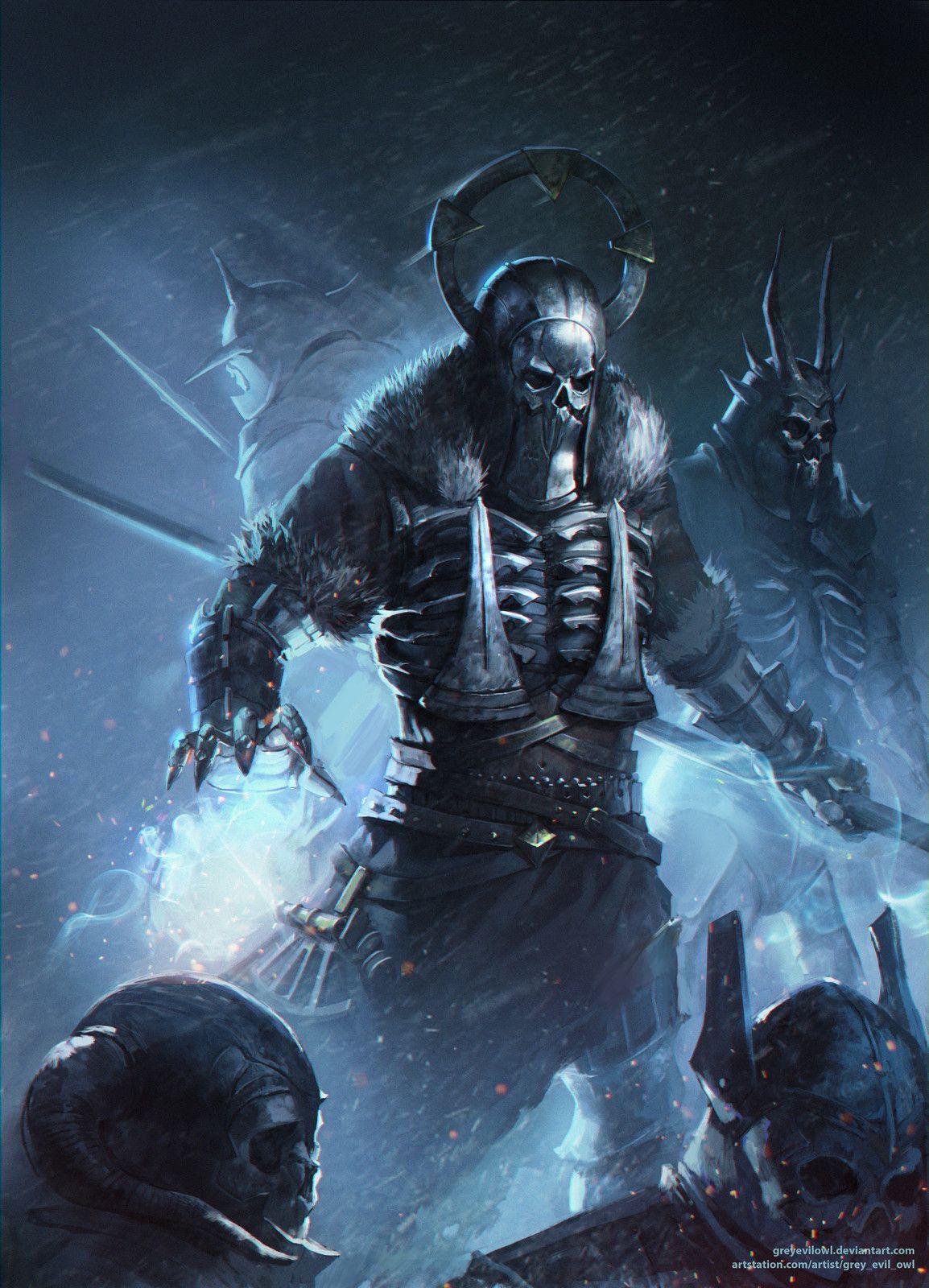 Caranthir witcher 3 fanart owl grey evil on artstation - The witcher 3 caranthir ...