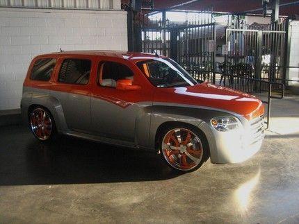 Chevrolet Hhr Painted By Star Side Design For Sema Chevy Hhr Hhr Car Chevy
