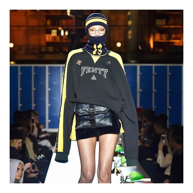 FENTY PUMA by Rihanna @ Paris Fashion Week #pfw #parisfashionweek #fenty #puma #rihanna  via GRAZIA HOLLAND MAGAZINE OFFICIAL INSTAGRAM - Fashion Campaigns  Haute Couture  Advertising  Editorial Photography  Magazine Cover Designs  Supermodels  Runway Models