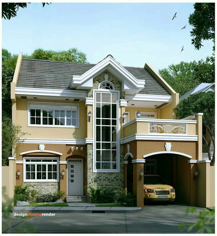 High Ceiling Type Philippine Houses House Styles Architecture