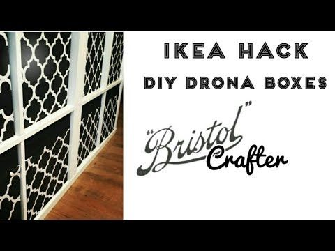 Ikea Hack Drona Boxes - YouTube   Crafts in 2019   Kids bedroom