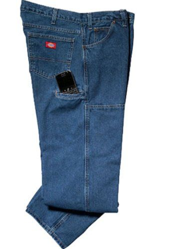 d324c09ee18185 Dickies Mens Relaxed Fit Double Knee Workhorse Jean  jeans  pants   mensjeans  clothing  fashion  fashionjeans