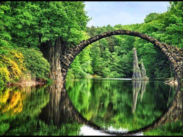 Ponte Rakotz Büke, na Alemanha
