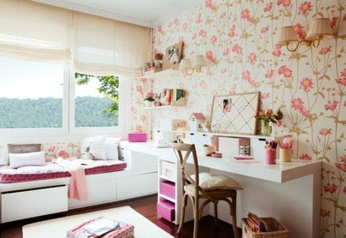 120 idées pour la chambre d\u0027ado unique! Chambre Marianne Pinterest