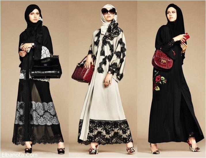 أحدث موديلات عبايات خليجية ٢٠١٦ من دولتشي آند غابانا Muslim Women Fashion Womens Fashion Modest Modest Outfits