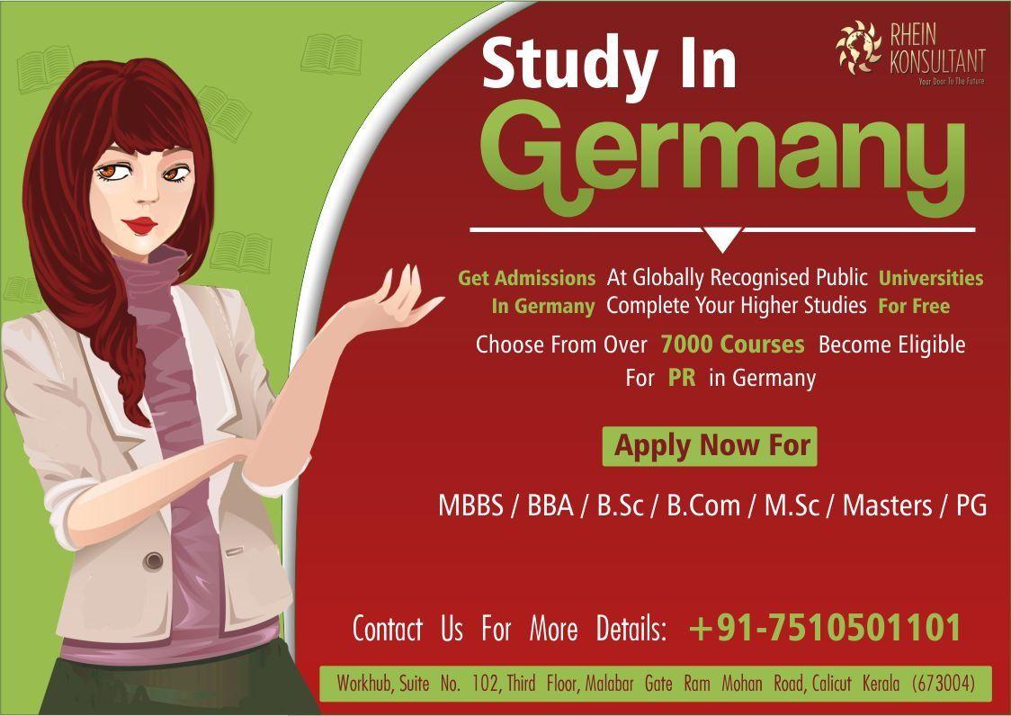 Study In Germany In 2020 Education In Germany German Universities Public University