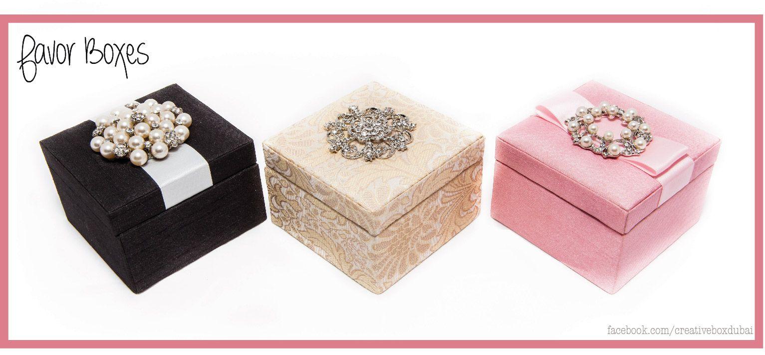 Silk Favor Boxes - #silk #favor #boxes #creativeboxdubai #wedding ...
