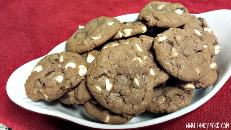 Nutella White Chocolate Chip Cookies   Fancy Fork