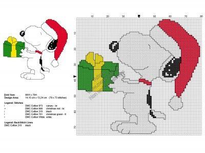 (lo schema che vorrei)Scarica Snoopy Natale, lo schema punto croce vincitore di Ottobre 2016 ! Clicca qui: http://www.magiedifilo.it/forum/vota-l-immagine-di-ottobre-2016-t4429.html