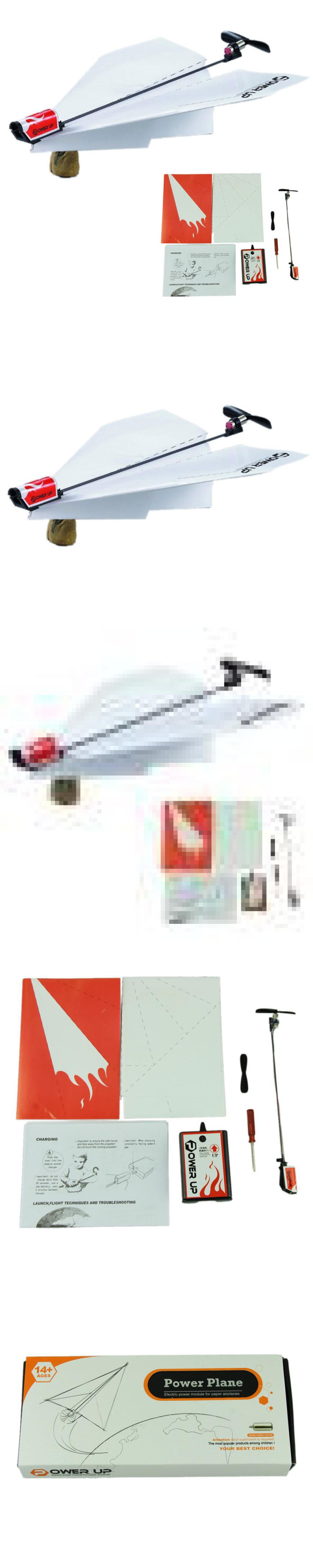 Power up electric paper plane airplane conversion kit fashion
