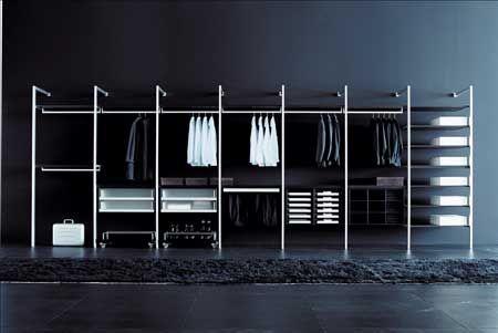Vestidores a la ltima site pinterest vestidor - Armarios abiertos baratos ...