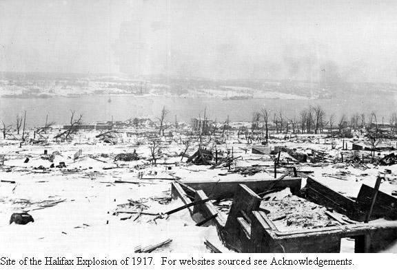 Site Of The Halifax Explosion 1917 With Images Halifax