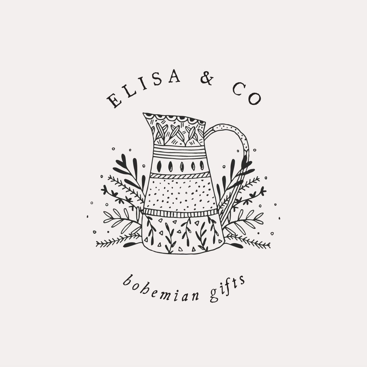 Vintage Logo Design Inspiration: Illustrated Logo Design With A Sweet And Rustic Vibe