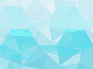 Light Blue Polygon Geometric Abstract Background Geometric Background Abstract Kawaii Wallpaper