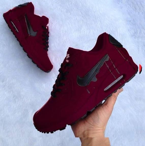 Royal Maroon air max 90 | Products in 2019 | Sneakers
