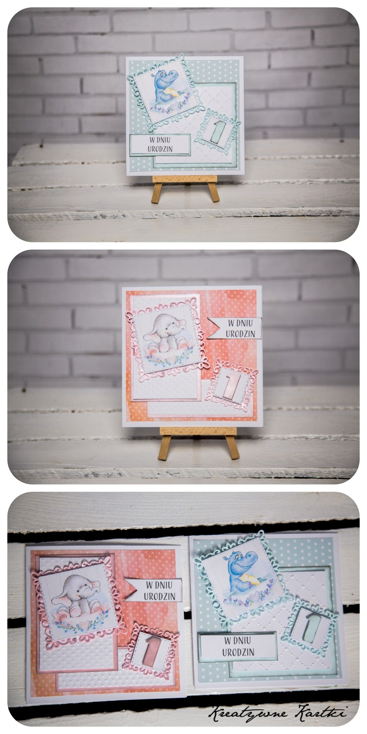 Kartki Urodzinowe Na Roczek With Images Kartki Urodzinowe