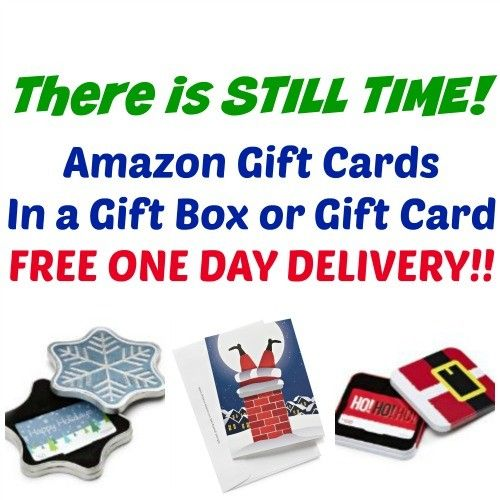 Amazon Gift Cards In Free Gift Box Or Card Free One Day Delivery Amazon Gifts Amazon Gift Cards Gift Card