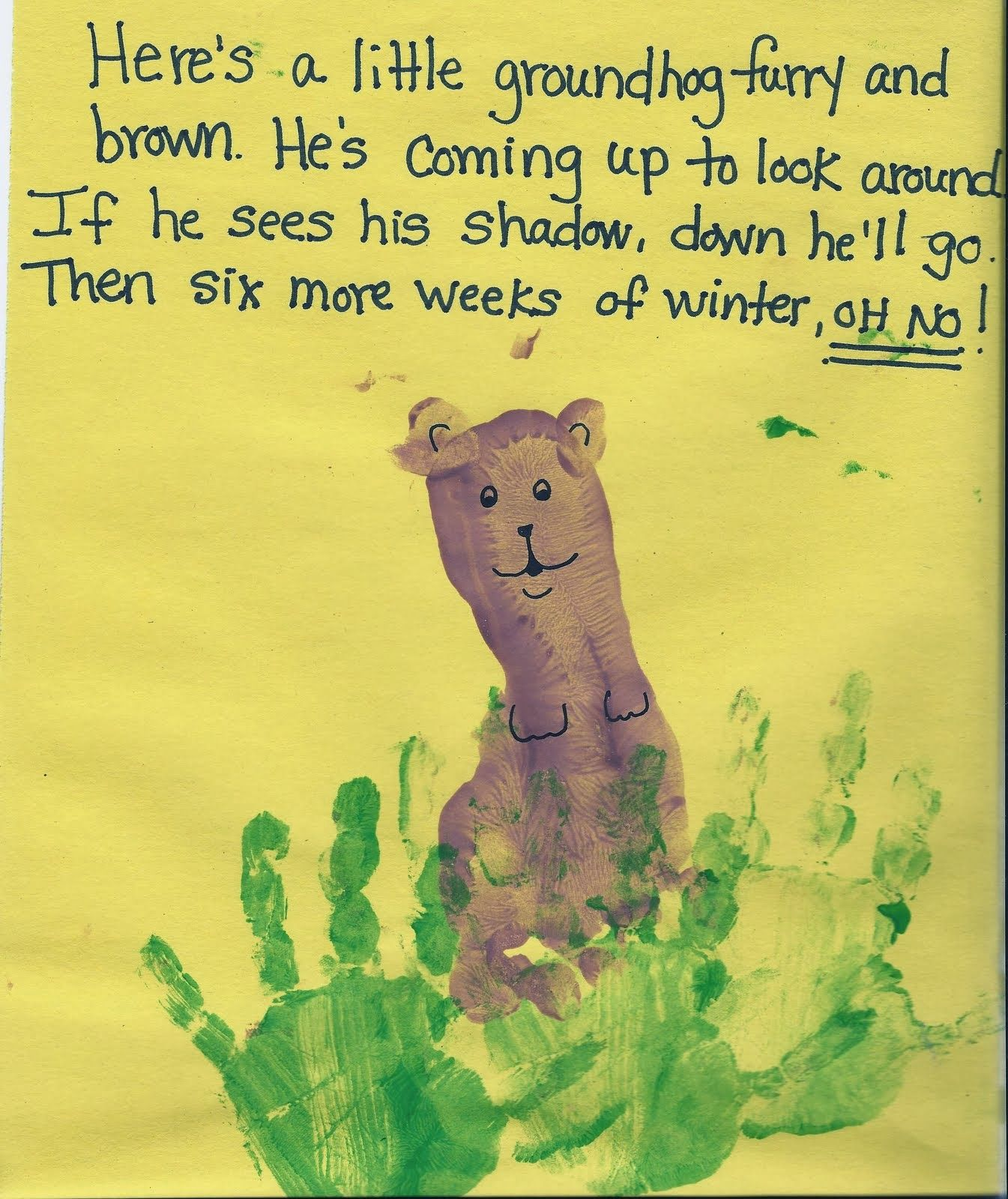 Groundhog Day Crafts For Kids Crafty Morning Kindergarten
