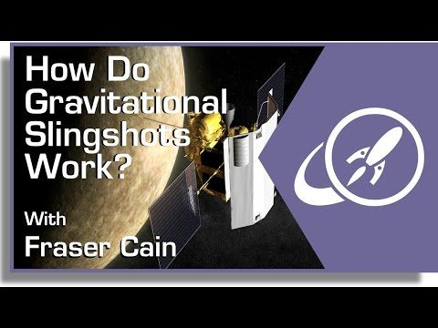 How Do Gravitational Slingshots Work? by FRASER CAIN on JULY 28, 2014