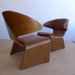 Hans Olsen Frem Rojle Teak Lounge Chairs Danish Mid Century Modern Ebay