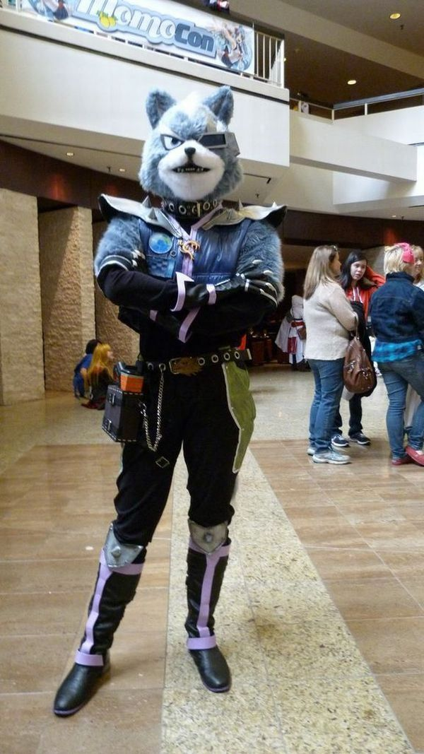 4afc2160f Wolf O Donnell cosplay Fox Mccloud