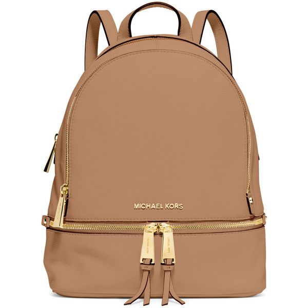401715c4d938 MICHAEL Michael Kors Rhea Small Zip Backpack ( 298) ❤ liked on Polyvore  featuring bags