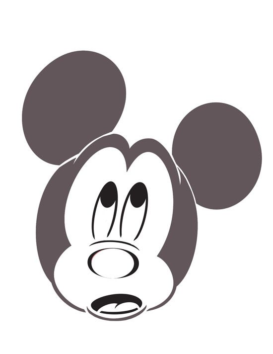 Mickey pumpkin stencils i think i 39 m going to do the for Vampire mickey mouse pumpkin template