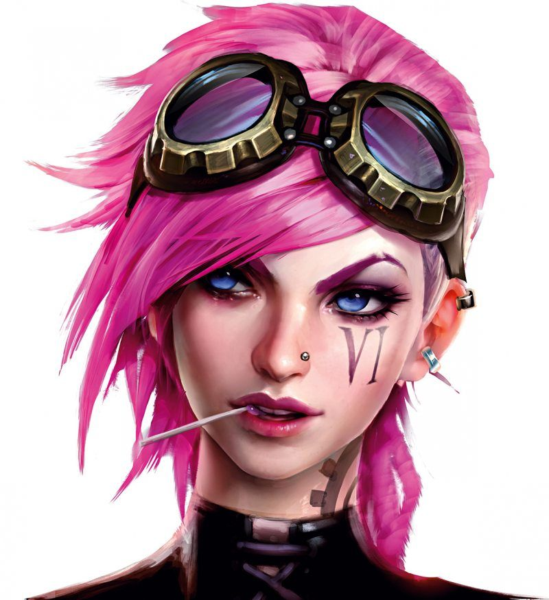 Vi Concept Art 2 League Of Legends Artwork Wallpaper Lol Vi League Of Legends Lol League Of Legends League Of Legends Characters